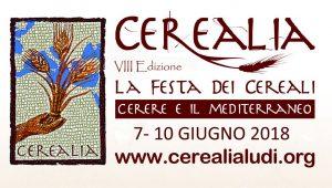 Cerealia 2018 .LA FESTA DEI CEREALI. CERERE E IL MEDITERRANEO