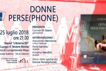 Donne Perse(phone) di Annalisa Venditti a Lungo Il Tevere